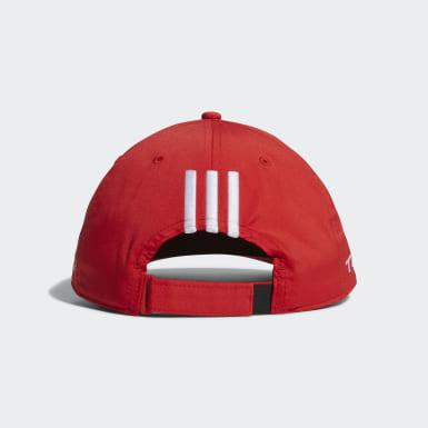 Men Golf Red Tour Cap