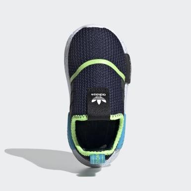 Infant & Toddler Originals Blue NMD 360 Shoes
