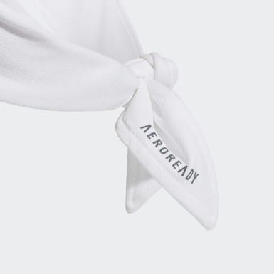 Tennis 2-Coloured AERODAY Tennis Stirnband Weiß