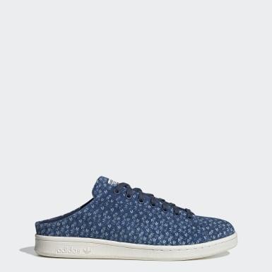 Chaussure Stan Smith Mule Bleu Originals