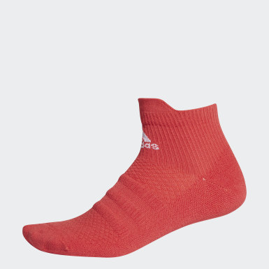 Tennis Röd Techfit Ankle Socks