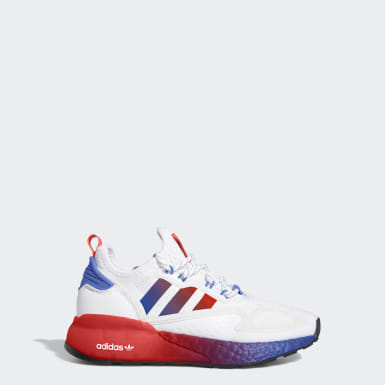 Kids Originals White ZX 2K Boost Shoes