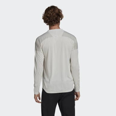 Men TERREX Grey Terrex Zupahike Long Sleeve Tee