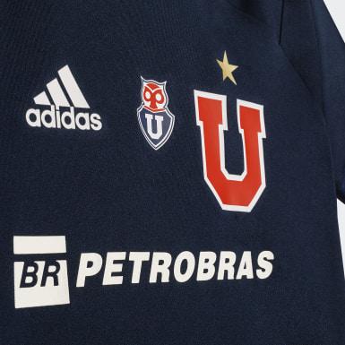 Mini Uniforme Local Club Universidad de Chile Azul Niño Fútbol