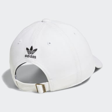 Women's Originals White Originals Relaxed Strap-Back Hat