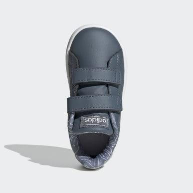 Kinder Tennis Advantage Schuh Blau
