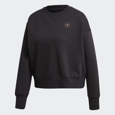Sweat-shirt Noir Femmes adidas by Stella McCartney