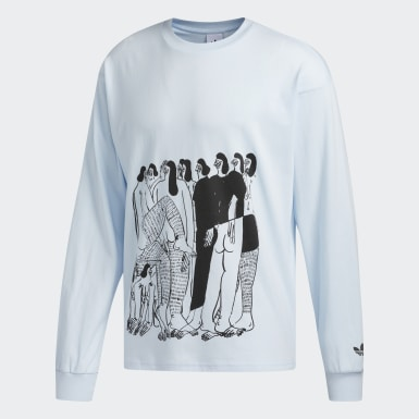 Originals Blå Unity (kønsneutral) trøje