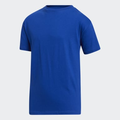 Youth Training Blue Amplifier Tee
