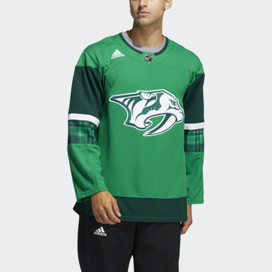 Men's Hockey Multicolor Predators St. Patricks Jersey