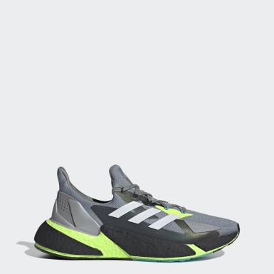 ผู้ชาย วิ่ง สีเทา X9000L4