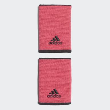 розовый Напульсники для тенниса Large