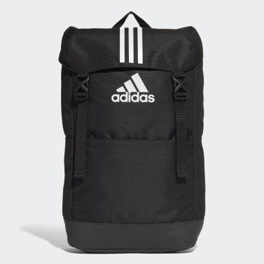 Training Black 3-Stripes Backpack