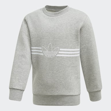 серый Комплект: свитшот и брюки Outline