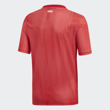 Jersey Tercer Uniforme Real Madrid Réplica Rojo Niño Fútbol