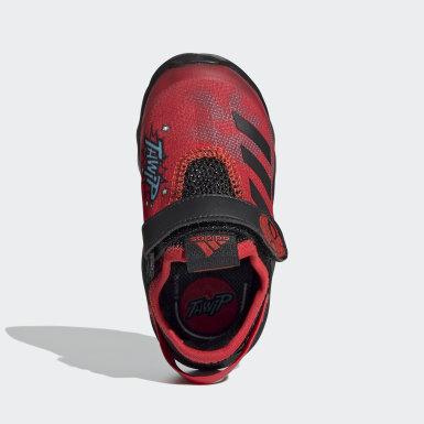 Infants เทรนนิง สีแดง รองเท้า Marvel Spider-Man ActiveFlex AC