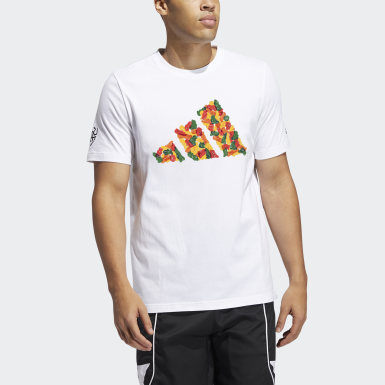 Men Basketball White Donovan Candy Tee