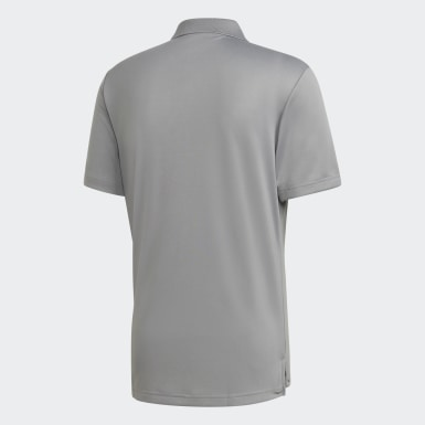 Männer Golf Performance LC Poloshirt Grau
