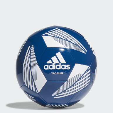 Men Football Blue Tiro Club Ball