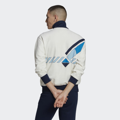 Men Originals White Archive Tennis Track Top