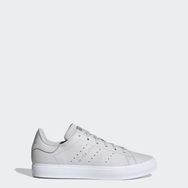 Youth 8-16 Years Originals Grey Stan Smith Vulc Shoes