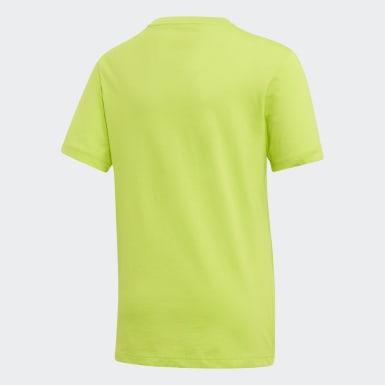T-shirt Essentials Linear Logo Vert Garçons Athletics