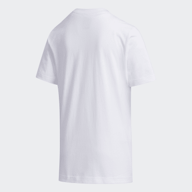 Boys Sport Inspired White Tee