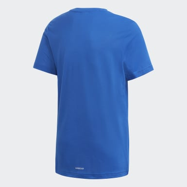 синий Футболка для фитнеса AEROREADY Prime