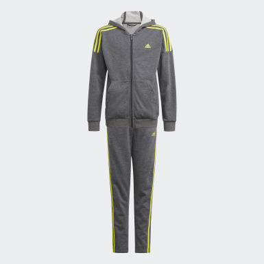 Boys Träning Grå Track Suit