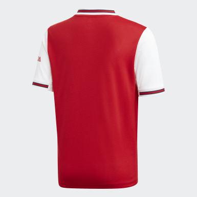 Boys Fodbold Rød Arsenal hjemmebanetrøje
