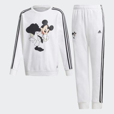 белый Комплект: брюки и джемпер Mickey Mouse Karate