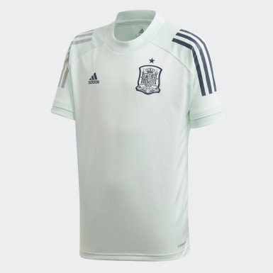 Spain Training Jersey Zielony