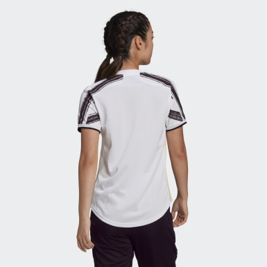 Women Football White Juventus 20/21 Home Jersey