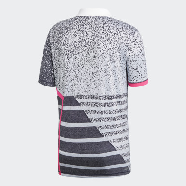 Men Tennis White Seasonal Polo Shirt