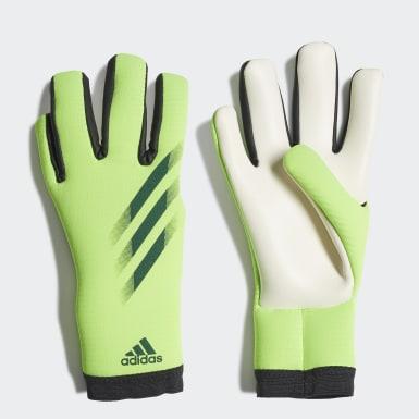 Futbal zelená Brankárske rukavice X 20 Training