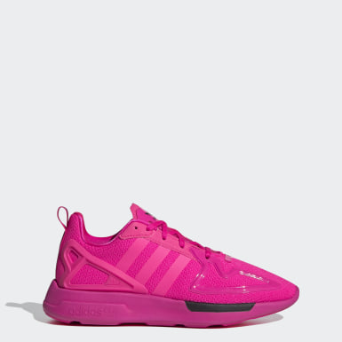 Women Originals Pink ZX 2K Flux Shoes