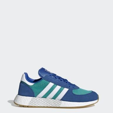 Heren Originals Turquoise Marathon Tech Schoenen