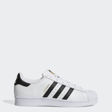 Tenis Lifestyle Blanco Negro adidas Originals Superstar W