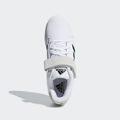 Men's Weightlifting White Power Perfect 3 Tokyo Weightlifting Shoes