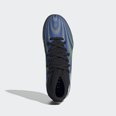 Children Football Blue Nemeziz.3 Turf Boots