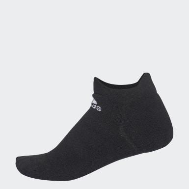 Training Black Alphaskin Maximum Cushioning No-Show Socks