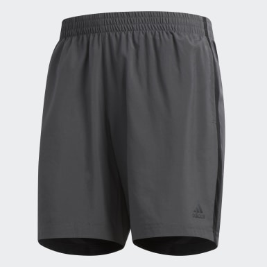 Men Running Grey Own the Run Shorts