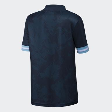 Camiseta de visitante Argentina (UNISEX) Azul Niño Fútbol