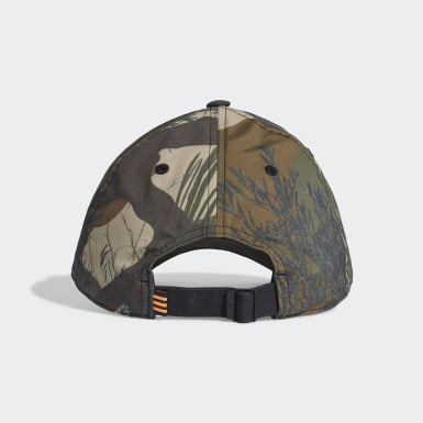 Gorra Camo Baseball Negro Originals