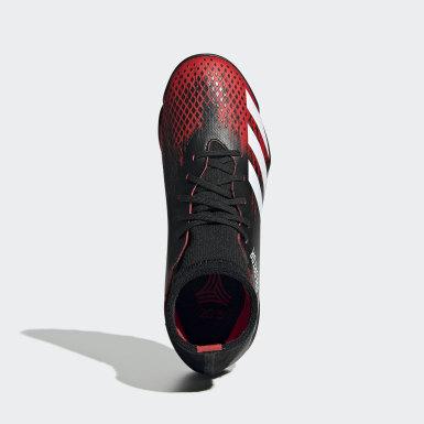 เด็กผู้ชาย ฟุตบอล สีดำ รองเท้าฟุตบอล Predator 20.3 Turf