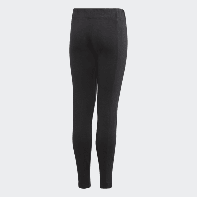 Girls Training Black Kimana Tights