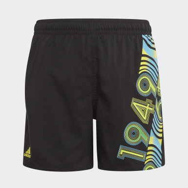 Boys Simning Svart Bold Swim Shorts
