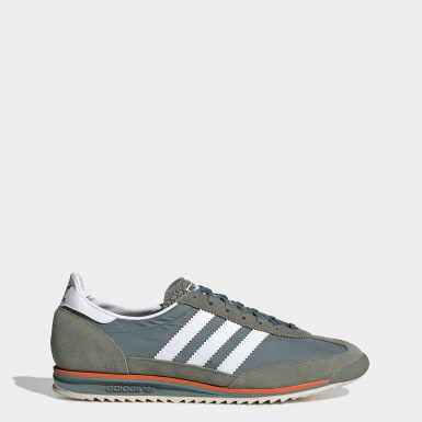 zapatillas adidas hombres casual verdes