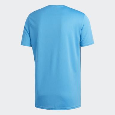 Camiseta Run Turquesa Homem Running