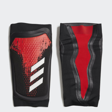 Soccer Black Predator 20 Pro Shin Guards